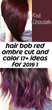 Hair bob red ombre cut und color 17+ ideas for 2019 1