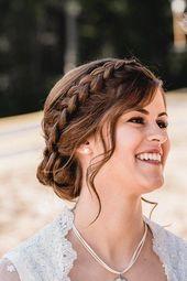 Flechtfrisur Braut – Frisuren zum Dirndl