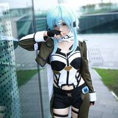 New to the shop! Take a look at this Shino Asada Sinon costume from Sword Artwork On-line…