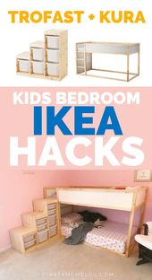 IKEA Hacks Kids Bedroom – #Bedroom #Hacks #Ikea #i…