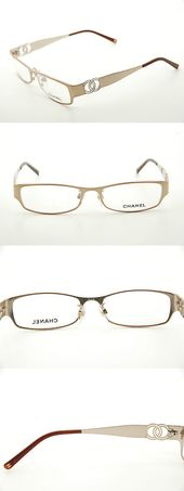 Fashion Eyewear Clear Glasses 179248: New Authentic Chanel 2106 C.304 Pale Gold … – Fashion Eyewear Clear Glasses 179248