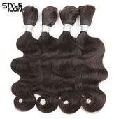 Styleicon Hair Body Wave Braiding Hair Bulk 100g/p…