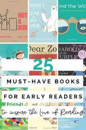 Auf der Suche nach den besten Must-Have-Büchern für frühe Leser? Es ist wichtig zu wählen … – Toddler 101