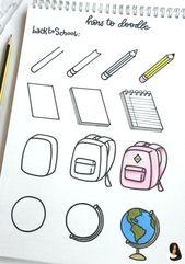 #doodles #drawing #Hairstyle step by step Doodles – #Doodles #tekenen        Kri…,  #Doodle…