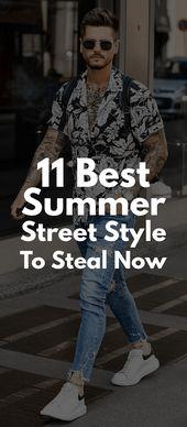 11 Cooler Sommer Street Style für Männer – Style