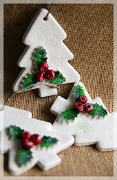 Salt Dough Christmas Tree – #Christmas #Dough #Sal…