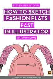 Illustrator Shortcuts  How To Sketch Fashion Flats Fast in Illustrator