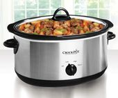 7-Quart Oval Edelstahl Slow Cooker bei Big Lots.   – Apartment and house ideas