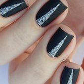 30 Horny Black Acrylic Nails Design You Want in your Life