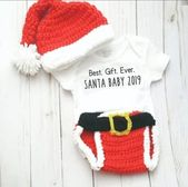 First Christmas Santa Suit Outfit Costume, Best Gift Ever Santa Baby 2019, My First Christmas Outfit – Products