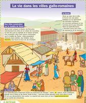 La vie dans les villes gallo-romaines