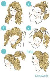 Frisur für ältere Frauen