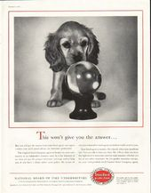 1956 National Board Of Fire Underwriters Vintage Ad The Answer