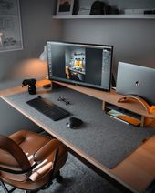 5 Good Workspaces For Your Inspiration – #aesthetic #laptop #desing #Schooling…
