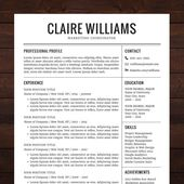 Free Microsoft Word Resume Templates For Download  Microsoft