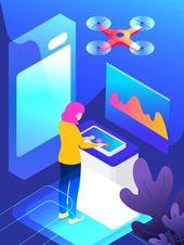 2 5d الاصطناعي المستقبل الاستخبارات التكنولوجيا التوضيح 2 5d التوضيح توضيح الذكاء الاصطناعي التوضيح التكنولوجيا الذكية صورة توضيحية على Pngtree غير محفوظة Stationary Paper Gaming Logos Artificial Intelligence