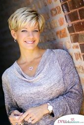 Short hairstyles for women over 50 – elegant, chic and modern