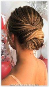 Les coiffures de mariage les plus élégantes – #les # coiffures #elegant #weg …   – Killer Hairstyles for Tangueras