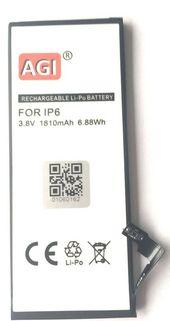 AGI »Mobile phone / smartphone battery compatible with Apple iPhone 6G« Buy smartphone battery 1800 mAh (3.8 V) online OTTO