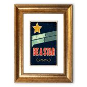 East Urban Home Framed Photographic Print Don't Forget to be a Star | Wayfair.de