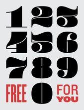Fettgedruckte Zahlen – #fettgedruckte #zahlen