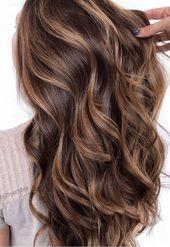 49 Schöne hellbraune Haarfarbe für einen neuen Look Wunderschönes Balayage-Haar …   – Hair colour trends