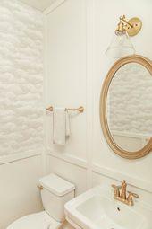 $500 Powder Room Renovation Reveal