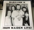 Marillion Iron Maiden The Boys Are Back In Town 7 Live 1987 Very Rare Music Vinyl Records For Sale Vinyl Records New Vinyl Records