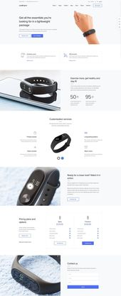 Promote a Product Landing Page. Website Design Template. WordPress Theme. Tech P…-#design #landing #Page #product #promote #Tech