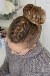 ▷ 1001 + Ideas and instructions for wonderful prom hairstyles
