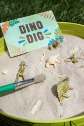 A Dino-mite Dinosaur Birthday Party – Just Add Confetti