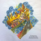 Amazon The Magical City A Colouring Book Books For Adults 9781405924092 Lizzie Mary Cullen