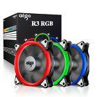Aigo Rgb Led 120mm Quiet Edition Adjustable Led Case Fan For Pc