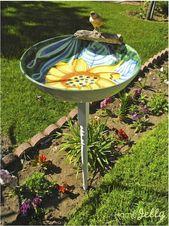 24 lindas ideas de bricolaje para pájaros que puedes hacer fácilmente para tu jardín   – Garten