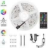 HoMii LED Streifen 5m RGB LED Strips Sync mit Musik IP65