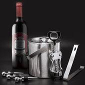 Winston Porter Peytin 6-teiliges Eiskübel-Werkzeugset für Weinbars