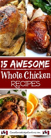 15 Awesome Whole Chicken Recipes! Just in time for…