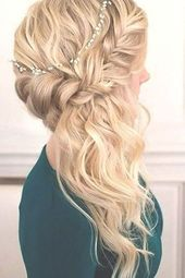 72 Romantic Wedding Hairstyle Trends in 2019 | Ecemella,  #Ecemella #Hairstyle #hairstyleswed…