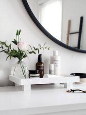 26 Günstige und einfache DIY Badezimmer Ideen, die jeder tun kann – Neue Dekor