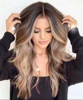 75 Ideen für brillante Balayage-Haarfarben – Hair and Makeup