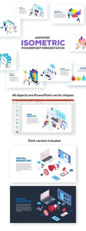 Isometric Powerpoint Presentations  PowerPoint Templates Presentation Templates