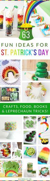 63 Magische St. Patrick's Day Ideen für Ihre kleinen Kobolde   – Projects to Try