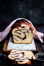 Blueberry Babka I Twosisterslivingl… This is a beautiful and delicious recipe …