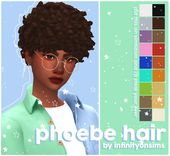 """infinityonsims: """"phoebe hairthis preview is what this was all about btw • fe…"""