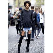 Comment porter la jupe en jean?   – street style