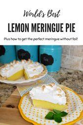 Die weltbeste Zitronen-Meringue-Torte – Sassy Cassy's