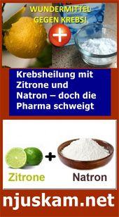 Krebsheilung mit Zitrone und Natron – doch die Pharma schweigt | njuskam!
