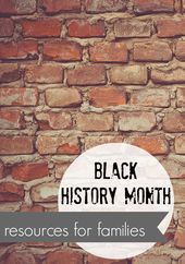 black historical past month: sources for teenagers and households