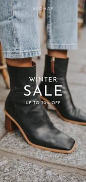 West Black Vintage Boots – collection