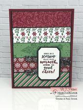 Obtenez votre Dashing Along GRATUITEMENT!   – Christmas cards